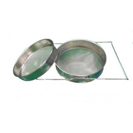 FILTRO estensibile in acciaio inox diametro 23 cm