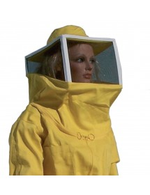 Blusón para apicoltura con careta cuadrada