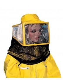 CARETA para apicoltura cuadrada en red y tul