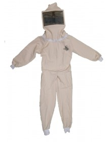 Beekeeper overall with square hat (Children) - Size: XL