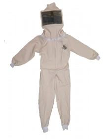 combinaison enfant pour apicolture complète de masque carrè taille XL