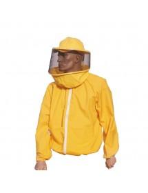 Blusón para apicoltura con careta redonda
