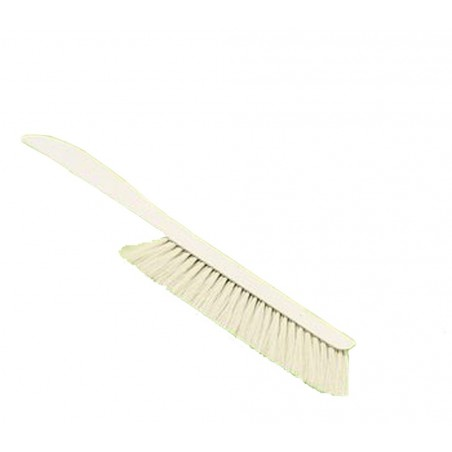 Brush for beekeeping, plastic handle, long 45 cm