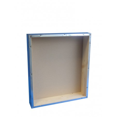 TETTO a scatola in lamiera zincata interno in legno per arnia D.B. da 10 favi