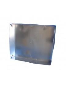 TETTO a scatola 4 pieghe elettrosaldato in lamiera zincata rivestito in legno  per arnie da 10
