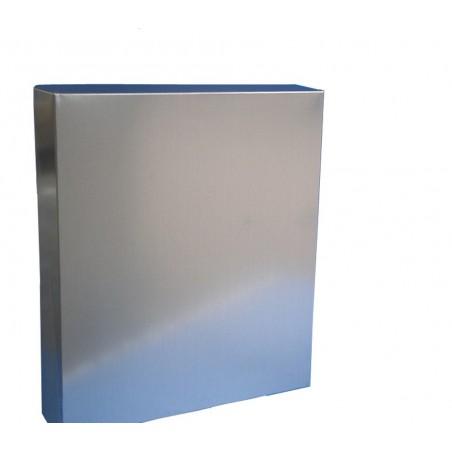 TETTO a scatola elettrosaldato in lamiera zincata per arnie D.B. da 10 favi