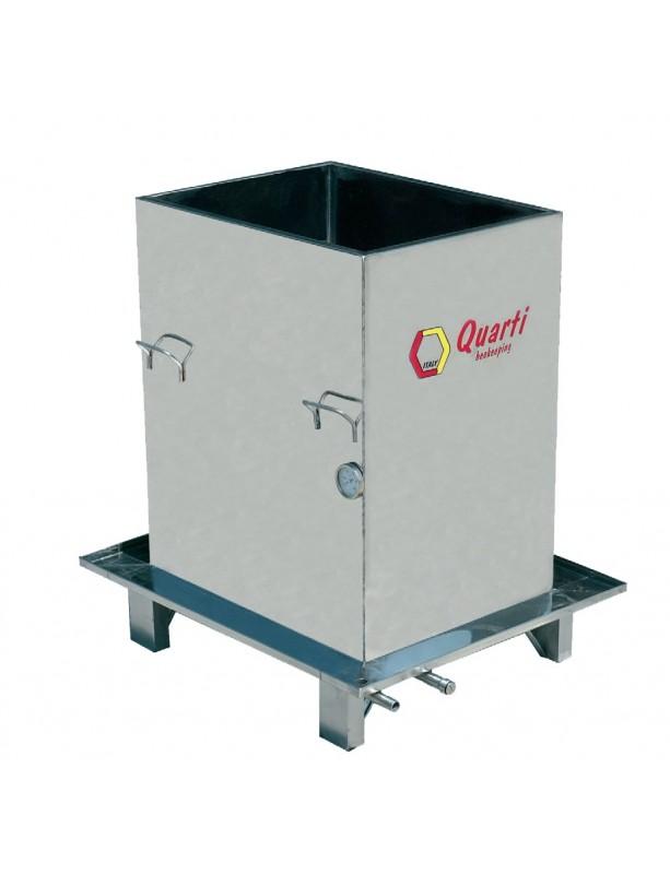 VASCA acciaio inox per paraffinare le arnie (fornello escluso)