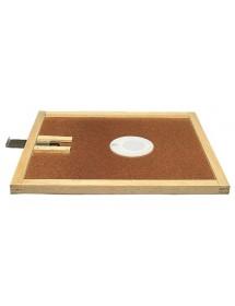 APISCAMPO su tavoletta con risalita cm50x50 con disco apiscampo a due vie