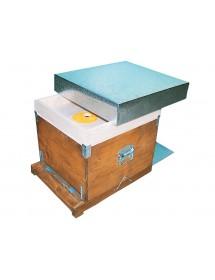 Dadant kubik beehive 10 frames with mobile anti varroa bottom