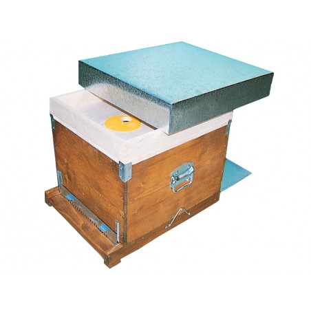 Dadant kubik beehive 10 frames with mobile anti varroa bottom