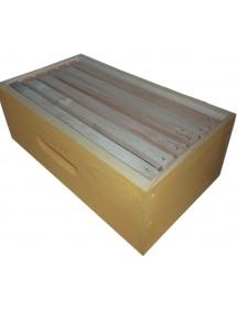 MELARIO per ARNIA D.B. 6 FAVI in legno con  TELAINI con FILO