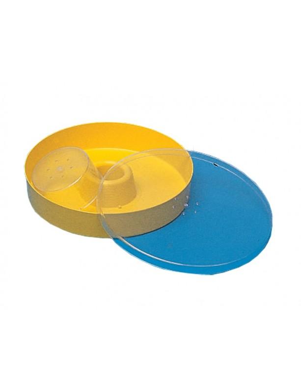 NUTRITORE in plastica rotondo capienza 2 litri