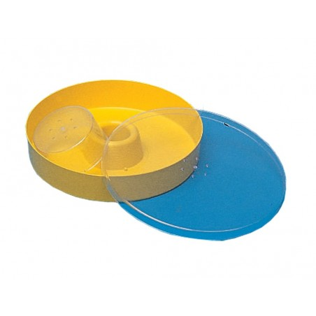 NUTRITORE tipo BARAVALLE in plastica rotondo capienza 2 litri