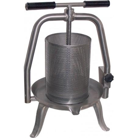 TORCHIO PRESSA PER OPERCOLI in acciaio inox a vite Ø 20 cm