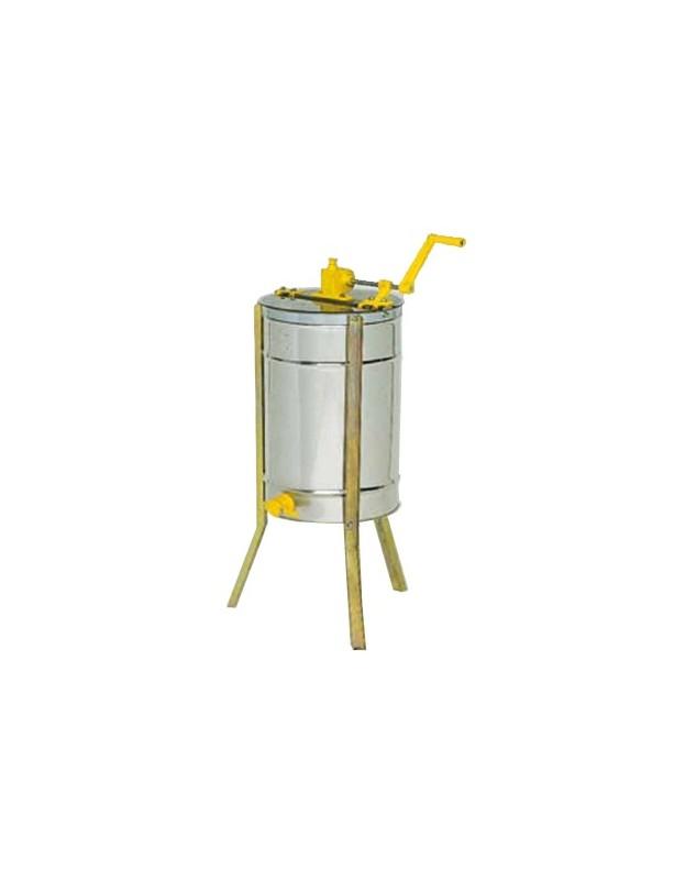 SMELATORE TANGENZIALE MANUALE LANGSTROTH per 3 favi con cestello inox- Ø 370