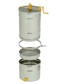 SMELATORE TANGENZIALE D.B kit per 4 favi da melario o 2 da nido on cestello inox