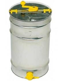 SMELATORE TANGENZIALE LANGSTROTH da 3 favi con cestello inox Ø 370