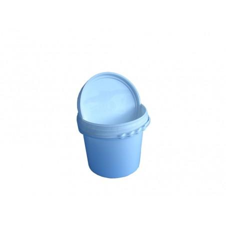 LATTA ROTONDA IN PLASTICA per 5 Kg di miele