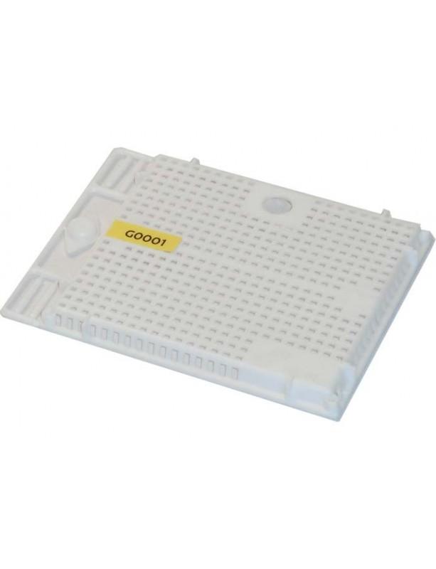 GABBIA quadrata plastica per introduzione e accettazione regine