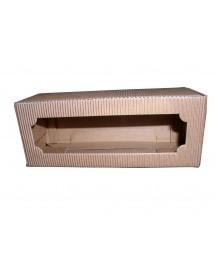 Stola ASTUCCIO in cartone per 3 vasi miele da 130g (marrone)