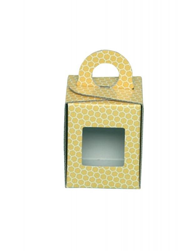 ASTUCCIO per vaso miele da 250g (giallo)