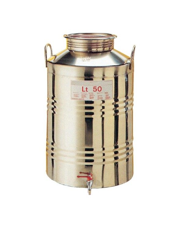 CONTENITORE per olio lt.50