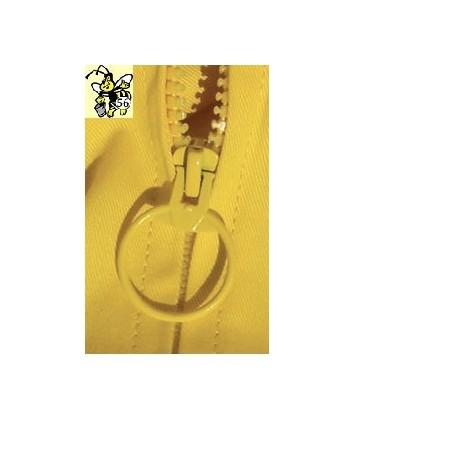 TUTA IN PURO COTONE completa di maschera quadrata removibile con 4 tasche, polsini con elastici cavigliere con velcro