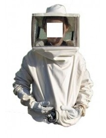 Beekeeper JACKET with square hat (children) - Size: XL