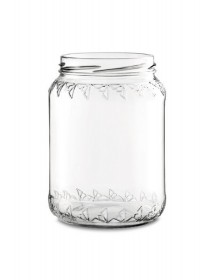 VASETTO in vetro per MIELE 500 g con CAPSULA TWIST-OFF T70