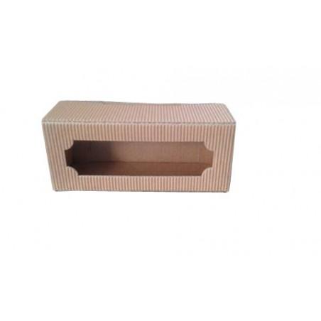 Scatola ASTUCCIO in cartone per 3 vasi miele da 50g (marrone)