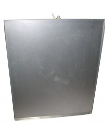 FONDO a cassettino fisso in lamiera zincata per arnie da 10 fave da 10 favi