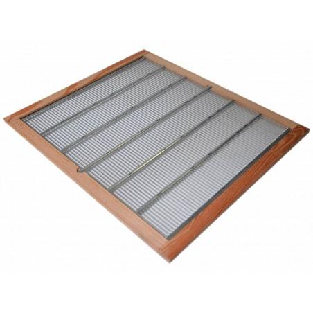 ESCLUDI REGINA in acciaio con cornice 50x50 cm