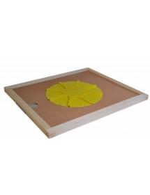 APISCAMPO su tavoletta cm50x50 con disco apiscampo a otto vie