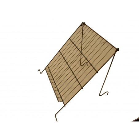 LEGGIO per disopercolare in acciaio inox