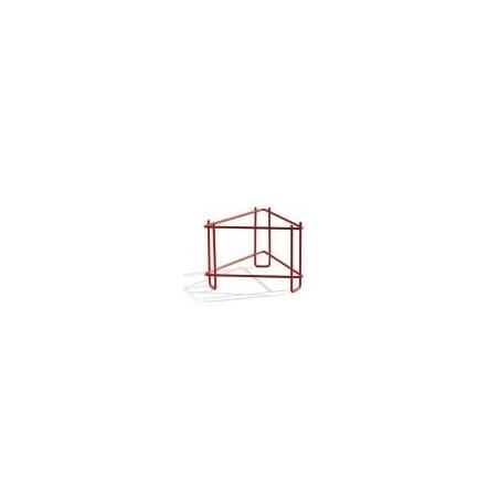 SUPPORTO metallico PER MATURATORI da 100 kg verniciato rosso