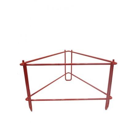 SUPPORTO metallico PER MATURATORI da 200 kg verniciato rosso