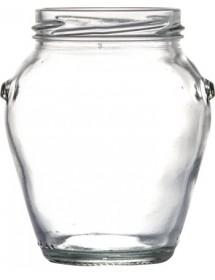 VASO IN VETRO ORCIO 370 ml con CAPSULA TWIST-OFF T63
