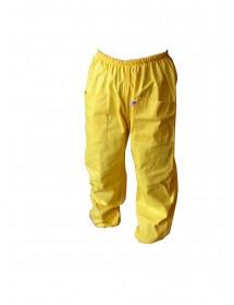 pantalon pour apiculture en coton jaune