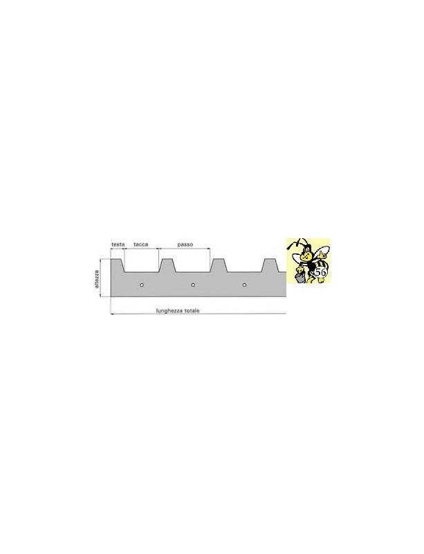 "DISTANZIATORE in ACCIAIO INOX ""STANDARD"" da 8 a 12 tacche -  25/28 mm"