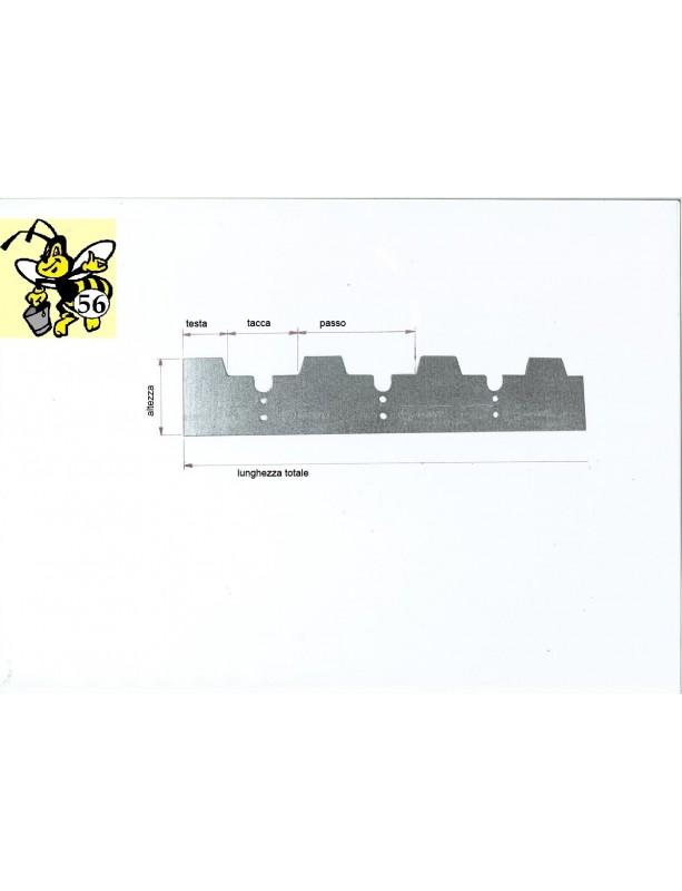 "DISTANZIATORE in ACCIAIO INOX  ""SALVAAPE"" da 8 a 12  tacce 25/28 mm"