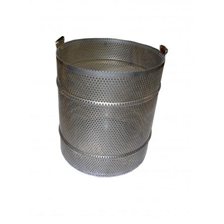 Cestello SCERATRICE inox a vapore senza fornello per 10 favi D.B da nido Ø 470 mm