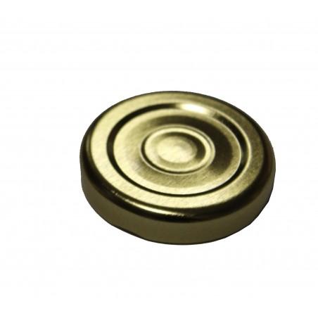 CAPSULA per vasetto miele T43 (oro,sottovuoto)