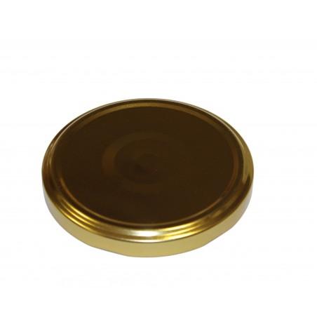 VASETTO in vetro per MIELE 1000 g con CAPSULA twist-off T 82 ORO CON FLIP