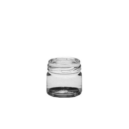 VASETTO in vetro CILINDRICO 41 ml con CAPSULA TWIST-OFF T43