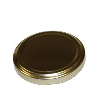 VASETTO IN VETRO ORCIO 370 ml con CAPSULA TWIST-OFF T63 ORO