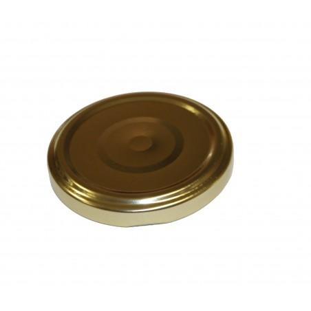 VASETTO IN VETRO ORCIO 370 ml con CAPSULA TWIST-OFF T63 ORO SOTTOVUOTO