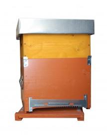 RUCHE BOX D.B. 10 CADRES avec fond anti-varroas MOBILE et hausse - avec cadres cirés