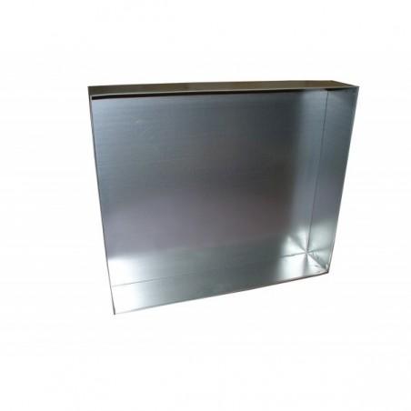 TETTO a scatola elettrosaldato in lamiera zincata per arnie da 10