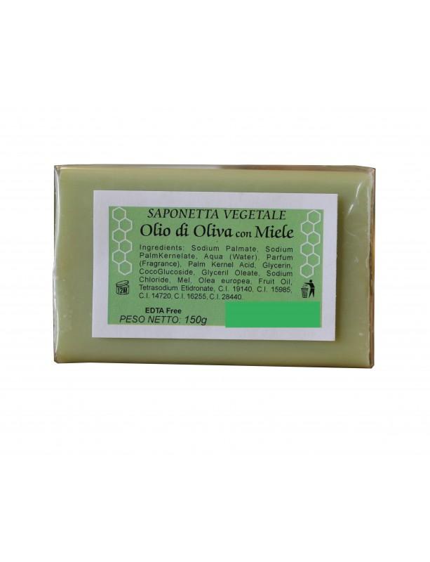 SAPONETTA VEGETALE Olio di Oliva con Miele