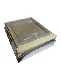 RUCHE BOX D.B. 10 CADRES avec fond anti-varroas FIXE - seul corps - kit de montage